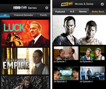HBO GO and MAX GO finally get Ice Cream Sandwich update