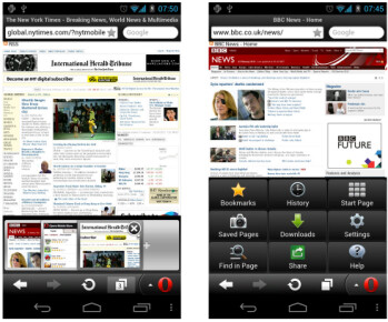 Images from Opera Mini for bada