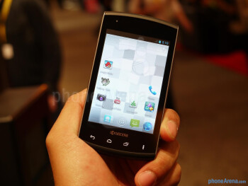 Kyocera Rise hands-on