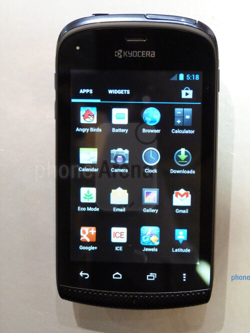 Kyocera+Hydro+hands-on