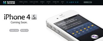 iPhone 4S landing on three regional carriers May 18th: Bluegrass, Golden State Cellular, Nex-Tech Wireless