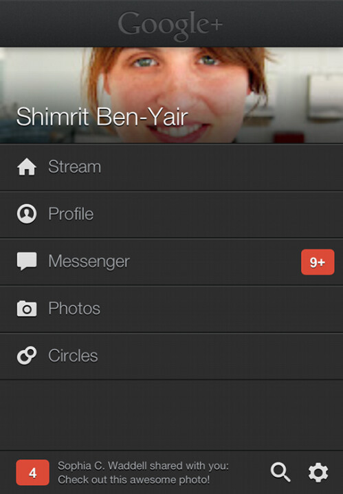 Google+ updated for iOS