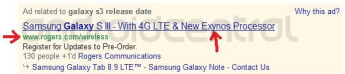 Google ad shows Rogers getting a Samsung Galaxy S III with both LTE connectivity and a quad-core Exynos processor