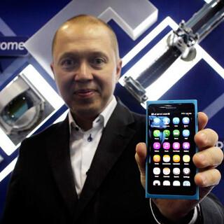 Marko Ahtisaari, Nokia chief designer. Image courtesy of AP.