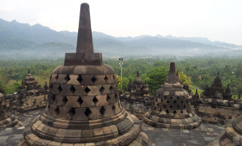 1. Anies Rizal - Samsung Galaxy S IIBorobudur temple