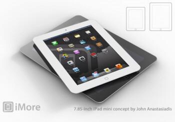 Concept of the mini Apple iPad courtesy of iMore