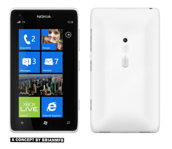 Nokia Lumia 850 concept images hit the web looking too sexy to be true