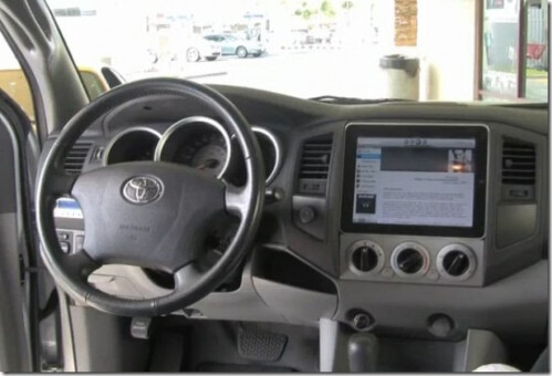 Using iPad as a car entertainment system