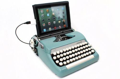 Using iPad as a typewriter