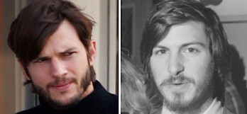 Ashton Kutcher (L) will play Steve Jobs in a low price indie flick about the early career of the late Apple executive