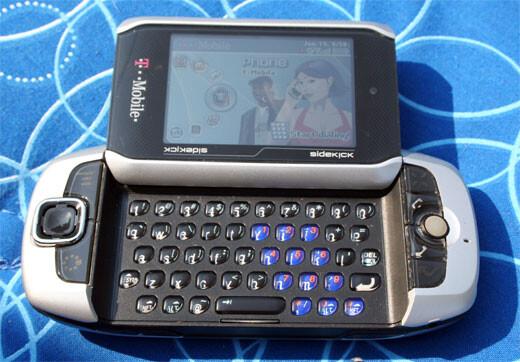 T-Mobile Sidekick 3 hands-on!