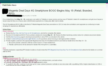 HTC One S, Nokia Lumia 710 and HTC Radar 4G added to lineup of T-Mobile's Magenta Deal Days