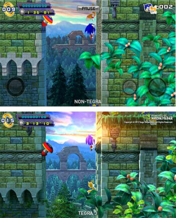 Sonic 4: Episode II first available for Tegra 3 on mobile, ahead of iOS