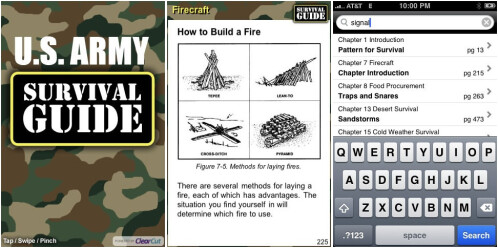 U.S. Army survival guide