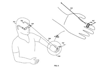 Google patent shows possible controls for Project Glass