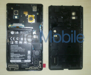 Latest picture of the back of the LG Eclipse 4G LTE