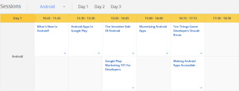 Google I/O 2012 schedule released