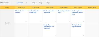 Google I/O 2012 schedule released