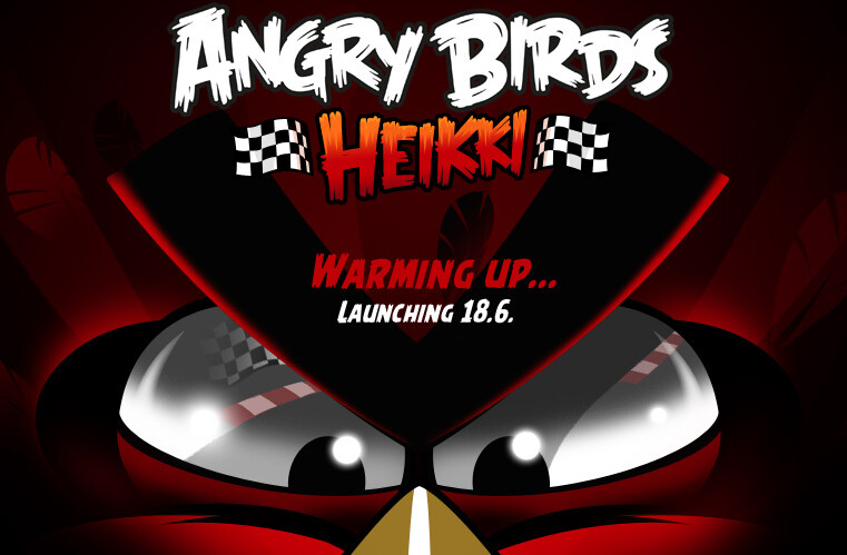 Angry Birds Heikki will launch June 18th - New racing-themed Angry Birds Heikki game coming June 18th