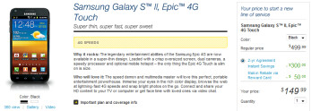 Sprint has cut the price on its version of the Samsung Galaxy S II