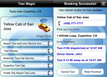 Taxi magic app is a new way to hail a cab but how well Magic app