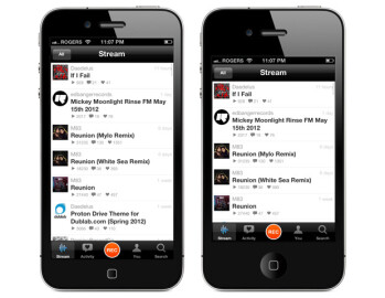 Here's what iPhone apps and web pages would look like on a 4 inch screen