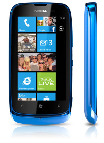 The app is available on the Nokia Lumia 610