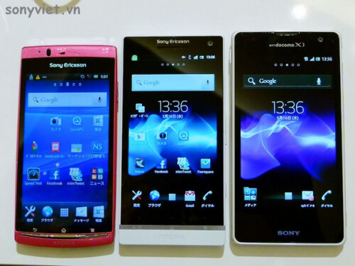 First design shots and sample images from the Sony Xperia GX appear