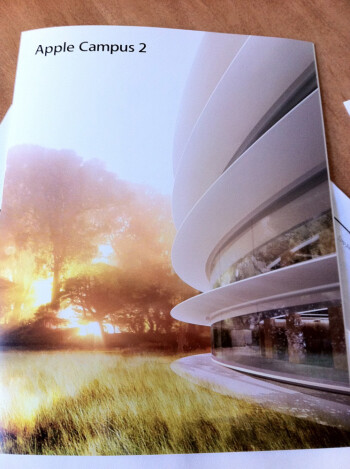 Apple sends out letter to neighbors of its future spaceship HQ