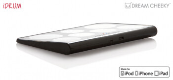 iDrum is an iOS accessory that doesn't make much sense