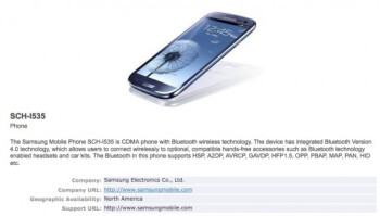 Verizon's variant of the Samsung Galaxy S III has a green light from the Bluetooth Special Interest Group