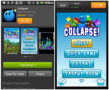 Amazon Appstore Android app gets Test Drive