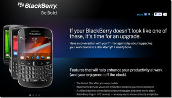 RIM wants to help you get new BlackBerry models at work