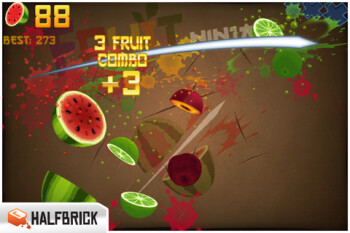 New update to Fruit Ninja adds extra power-ups and currency system