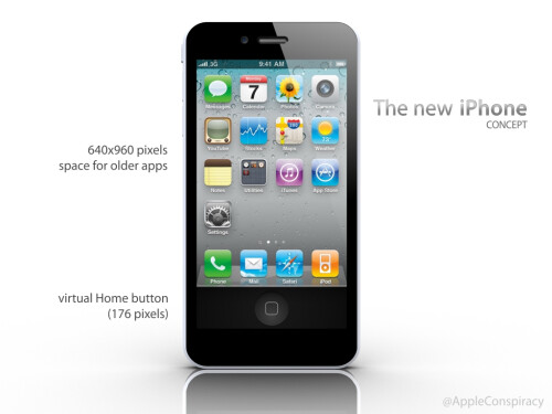 Next iPhone concept renders incorporate what Apple might do with that extra screen space