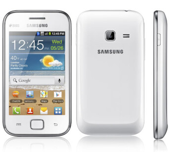 Samsung unveils new Galaxy Ace Duos
