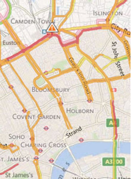 Bing Maps updated with Nokia-powered traffic and geocoding