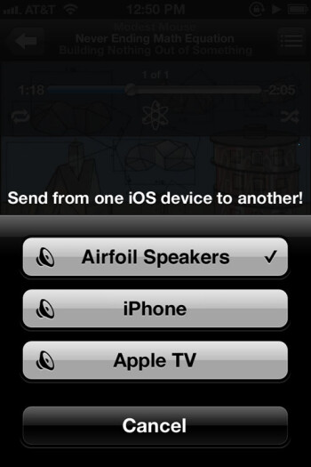 Hopefully this isn't the last you'll see of Airfoil Speakers Touch