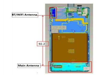 The Huawei Ascend P1 (R) has just visited the FCC (L)
