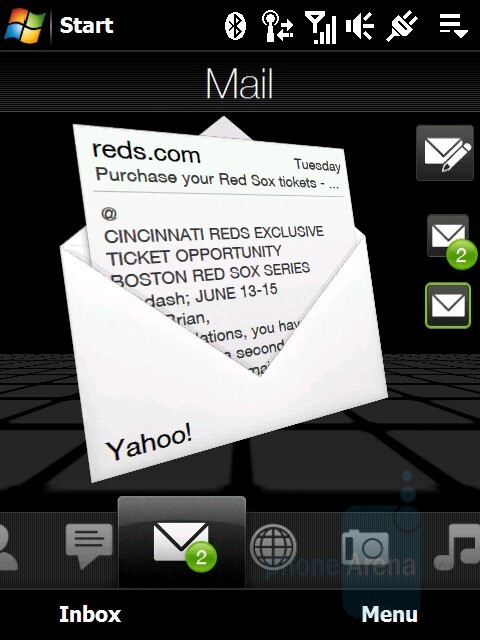 Email on the go