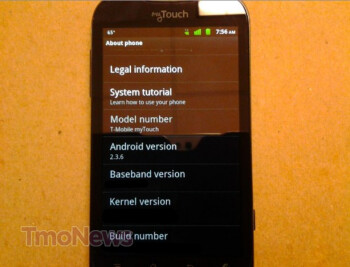 Huawei-based myTouch spotted in the wild