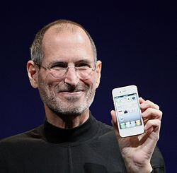 The late Steve Jobs - Tim Cook says Steve Jobs taught him about flip-flopping