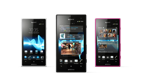 "Waterproof Sony Xperia acro S announced in ""glorious HD"""
