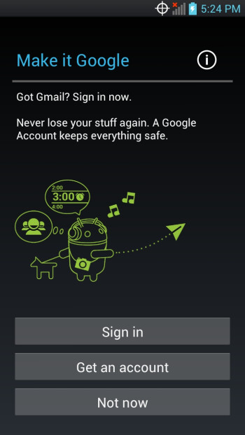 Screenshots from the leaked LG Spectrum Ice Cream Sandwich ROM
