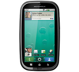 The Motorola Bravo is the carrier's top of the line handset