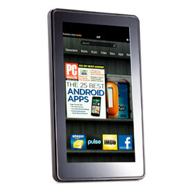 The Amazon Kindle Fire uses Android but has no Google applications