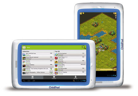 Unfortunately, the ChildPad comes with AppsLib, a limited app catalog. No Google Play.