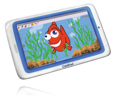The ChildPad comes with a drawing app.
