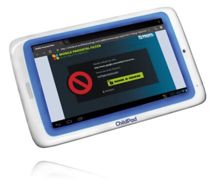 It features parental controls for websites.