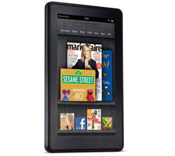 Space on the screensavers for the welcome screen on the Amazon Kindle Fire could become sold to advertisers